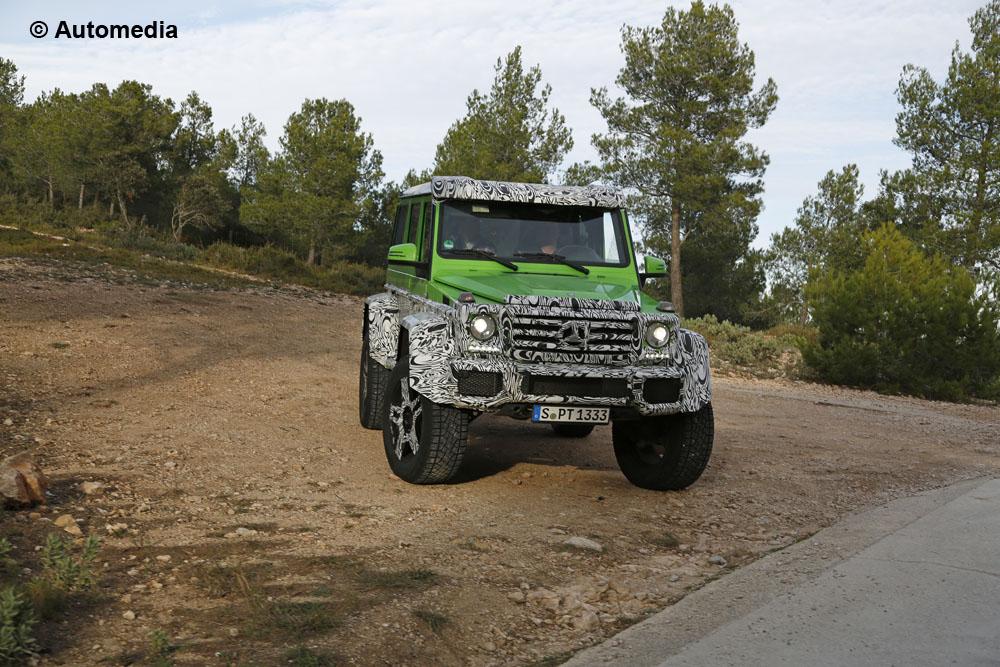 Mercedes G63 AMG 4x4 Green Monster