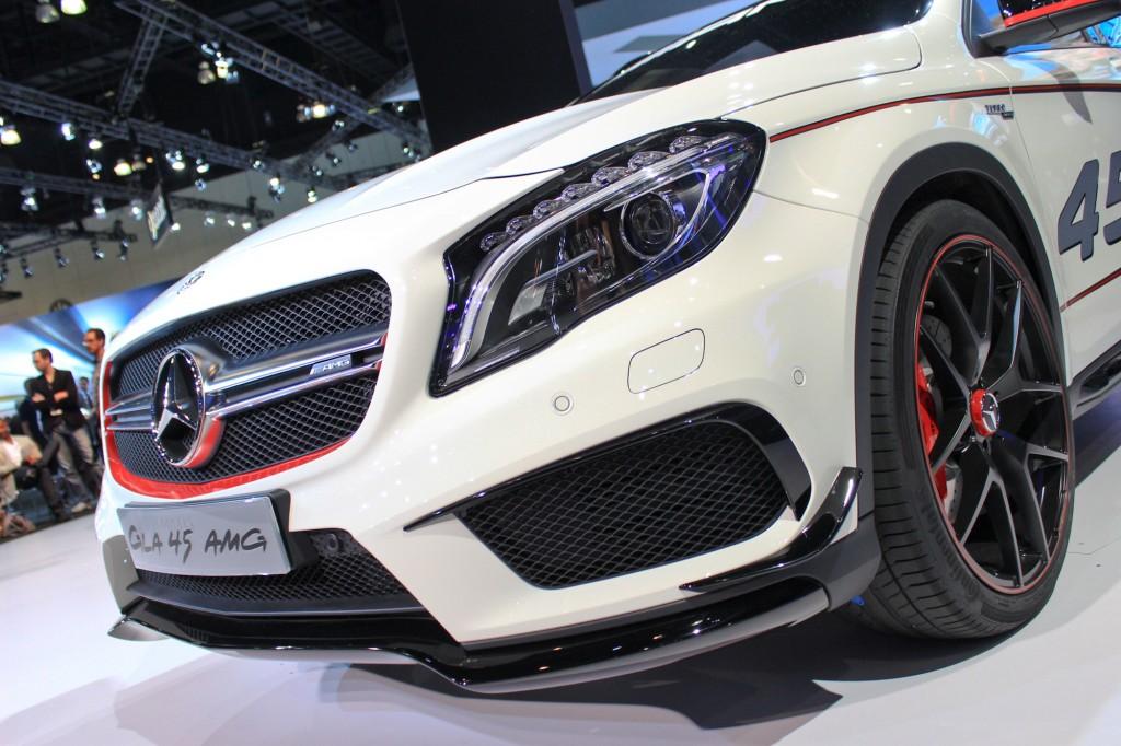 Mercedes GLA 45 AMG Concept - Salone di Los Angeles 2013
