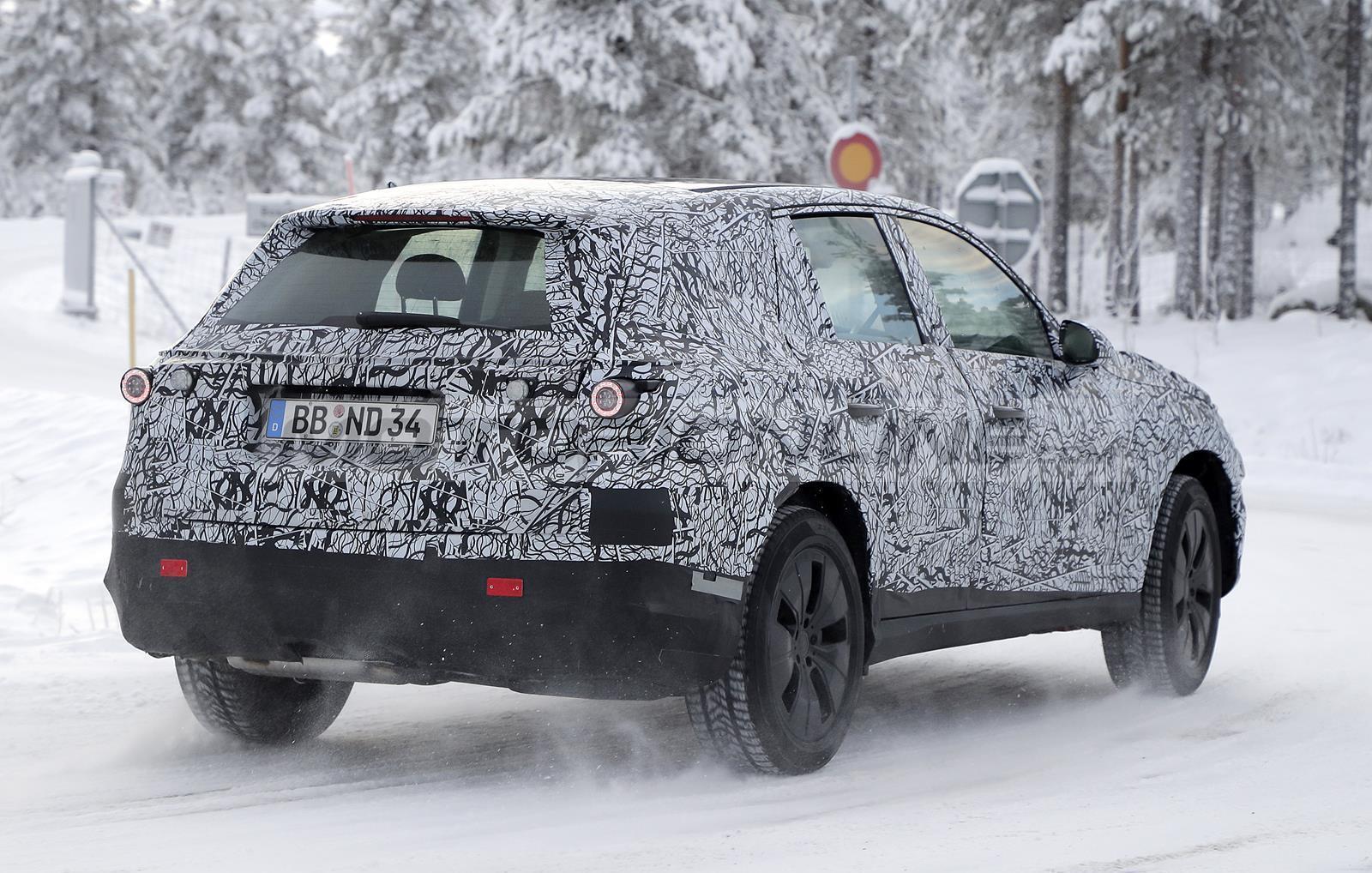 Mercedes GLC 2022 - Foto spia 10-12-2020