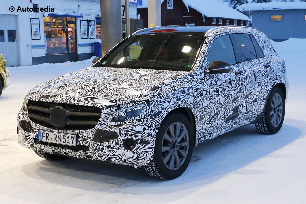Mercedes GLC - Foto spia 20-01-2015