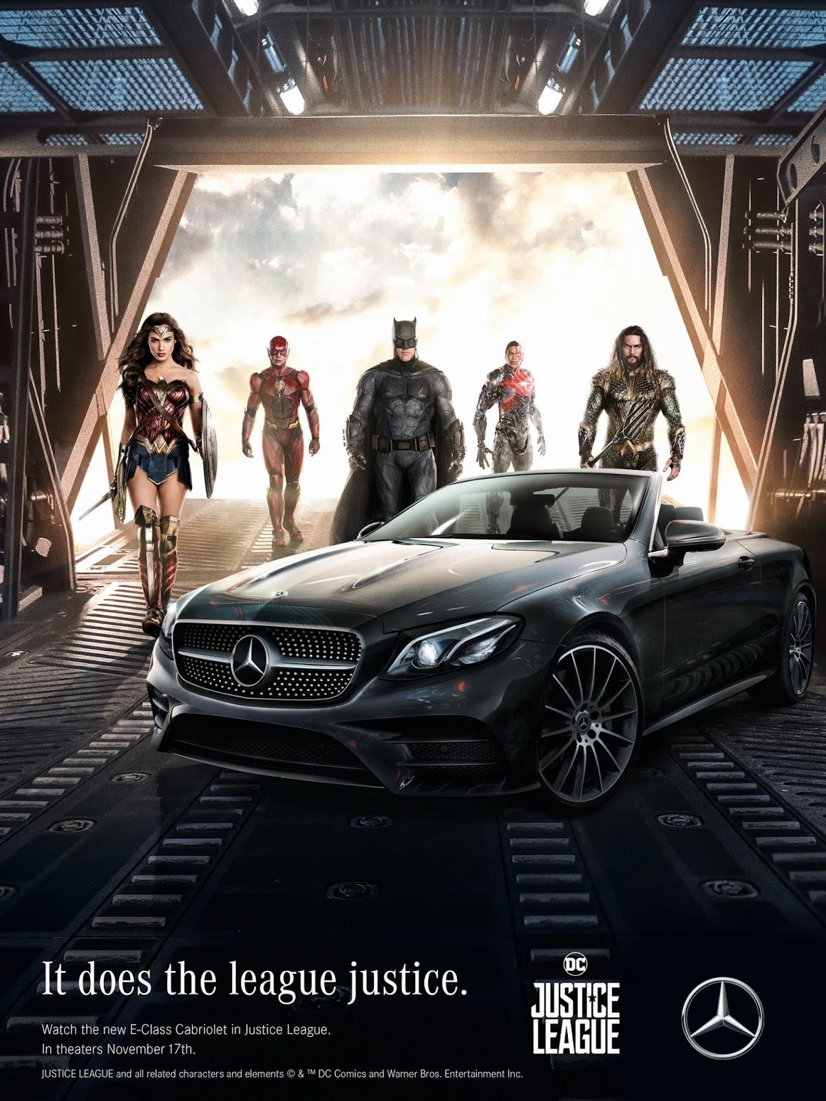 Mercedes - Justice League