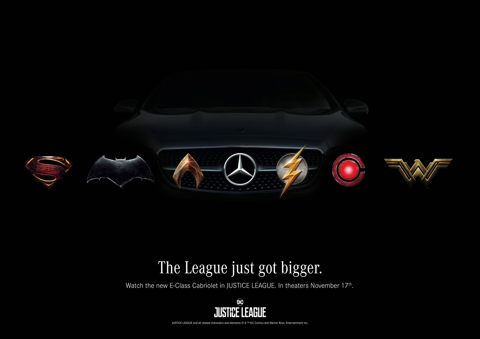 Mercedes - Justice League