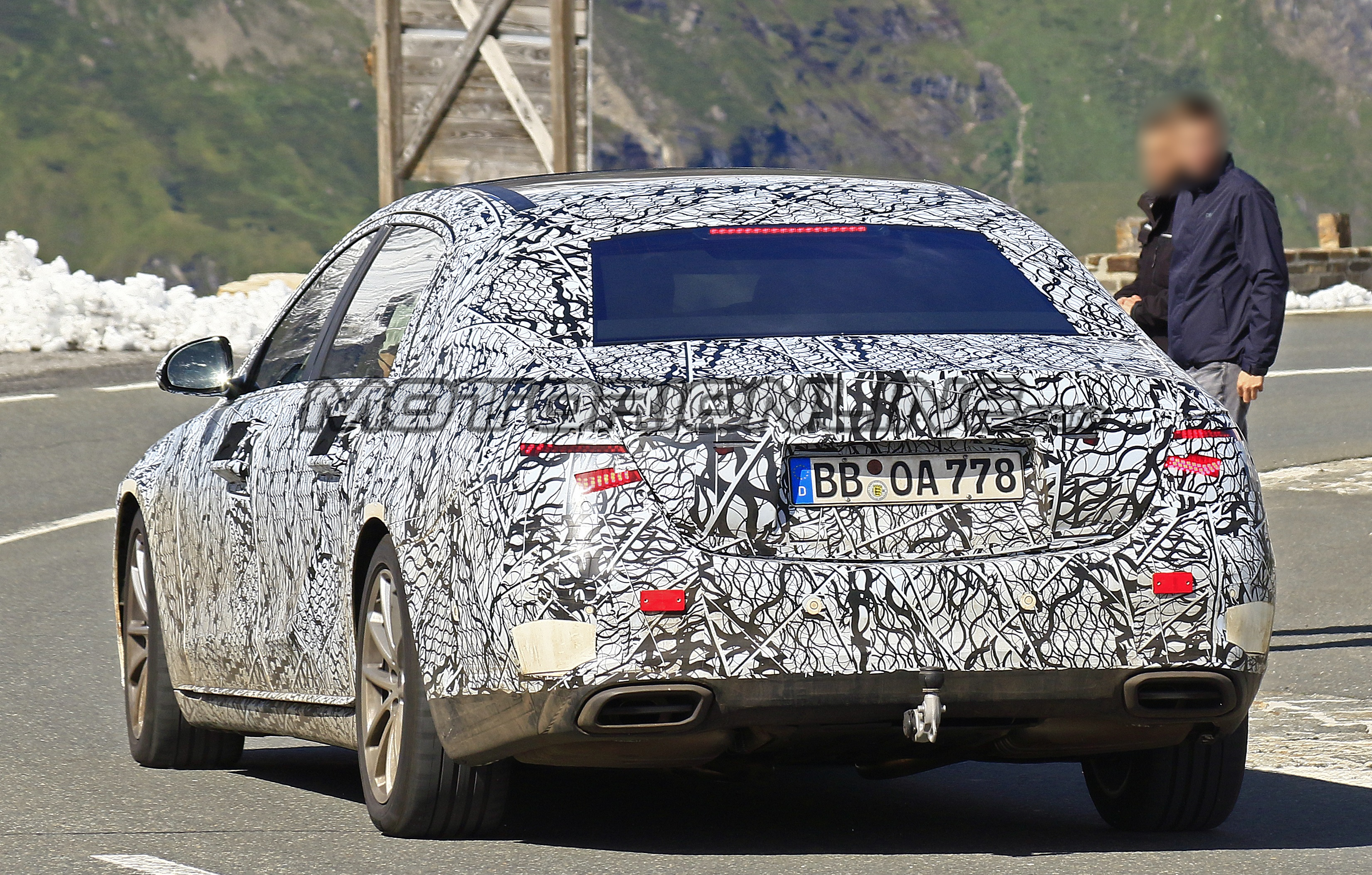 Mercedes-Maybach Classe S 2021 - Foto spia 18-09-2019