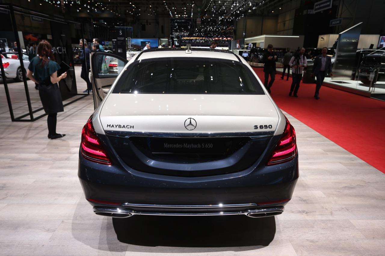 Mercedes Maybach Classe S - Salone di Ginevra 2018