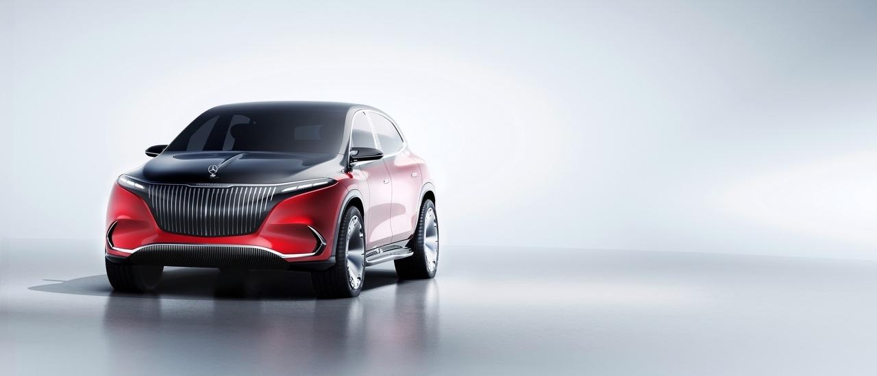Mercedes-Maybach EQS Concept - Foto ufficiali