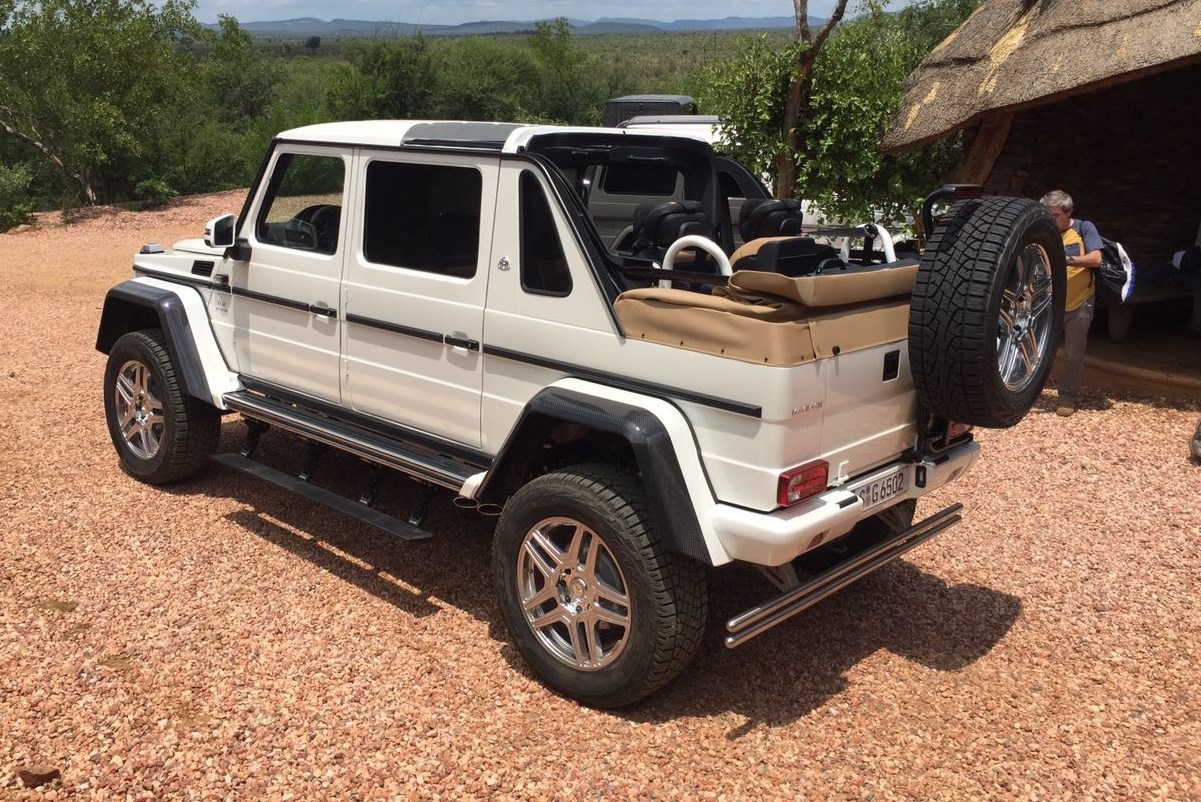 Mercedes-Maybach G650 Laundalet - Foto Leaked