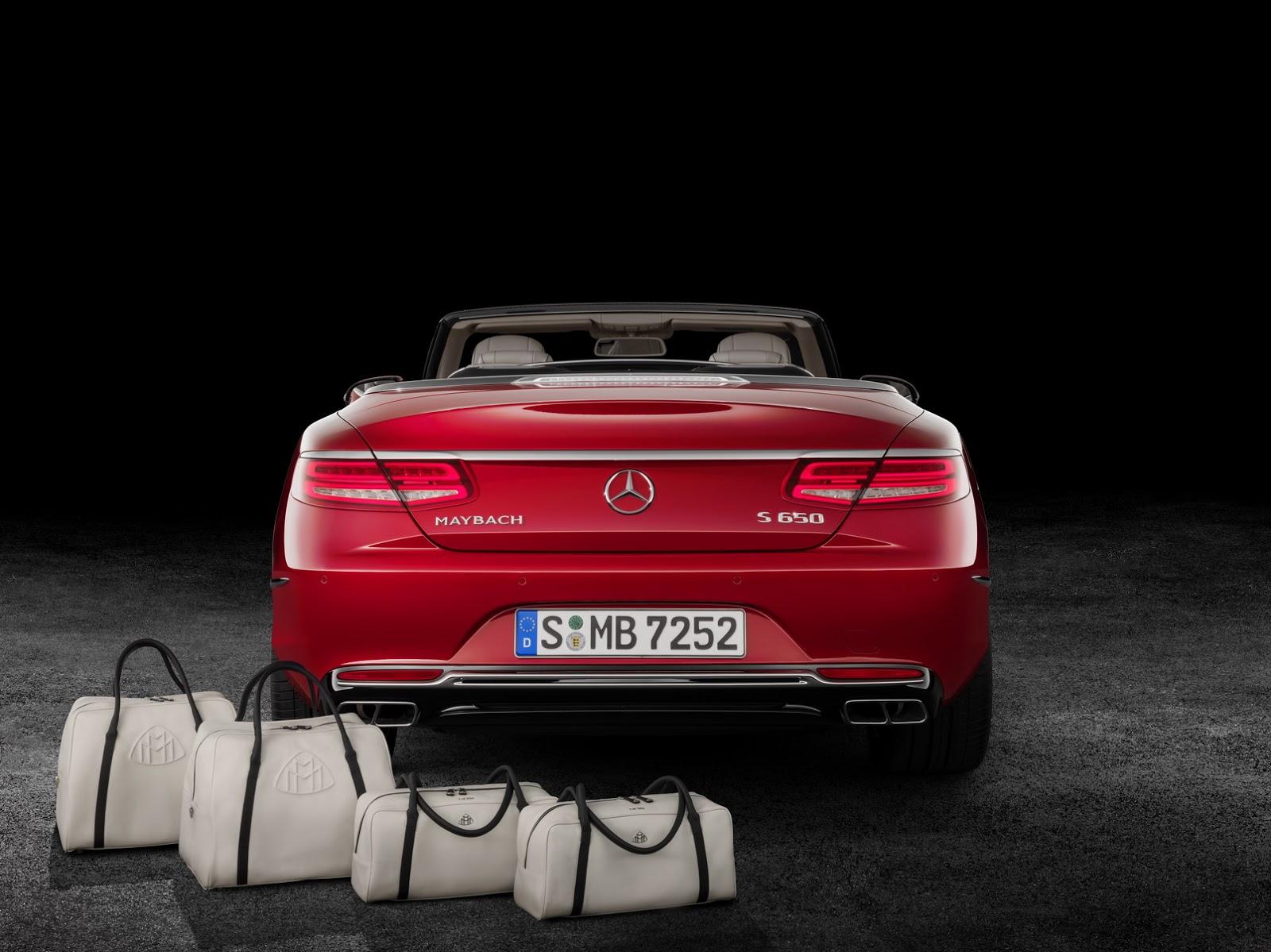 Mercedes-Maybach S 650 Cabriolet (foto ufficiali)