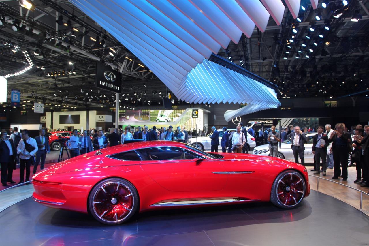 Mercedes Mayback Vision 6 - Salone di Parigi 2016