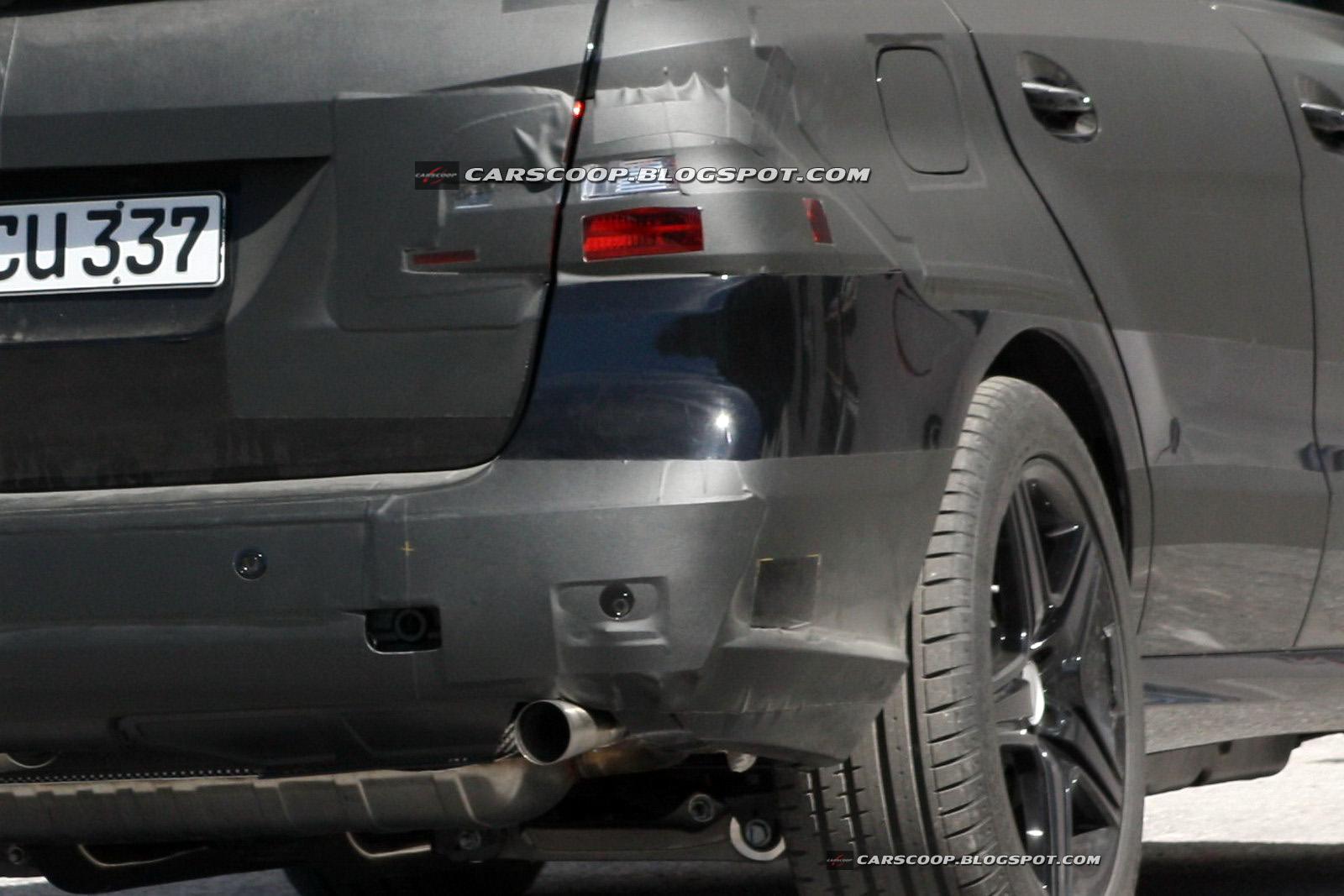 Mercedes ML63 AMG - Foto spia 11-10-2010