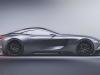 Mercedes SLR Vision - Rendering