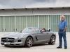 Mercedes SLS AMG Roadster e Mercedes AMG E-Cell - Test drive Jay Leno