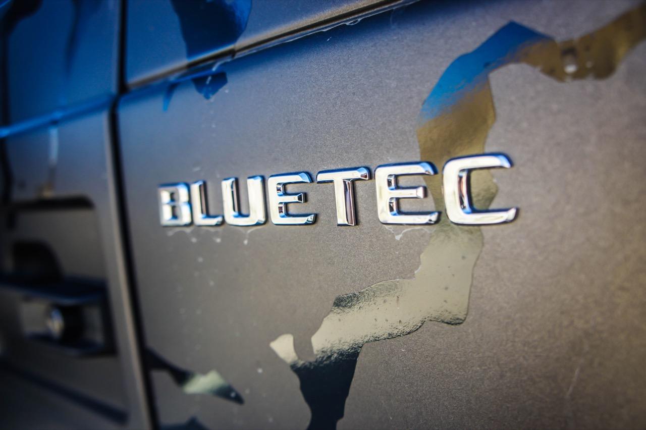Mercedes SUV Attack Desert Test Drive