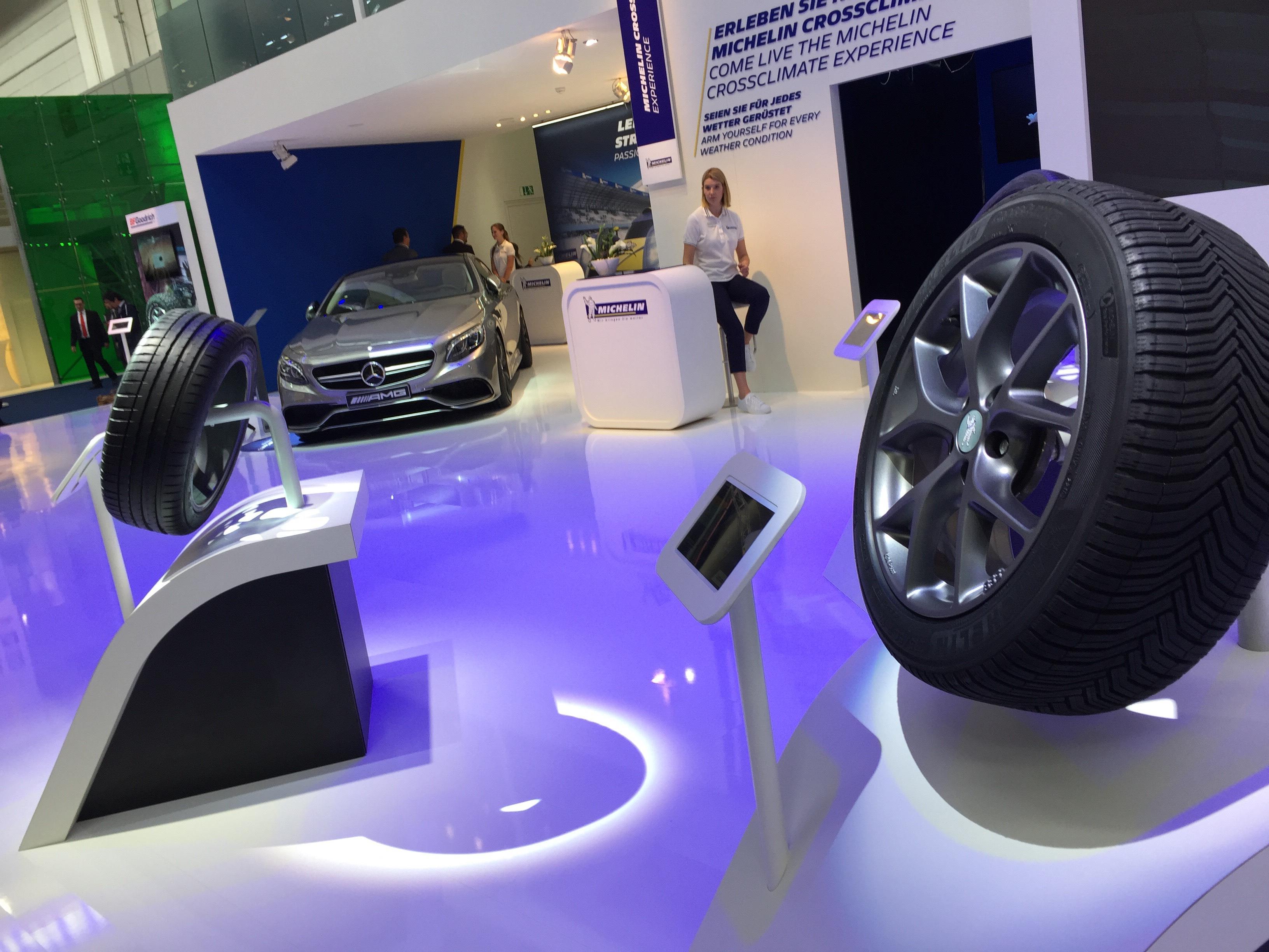 Michelin - Salone di Francoforte 2015