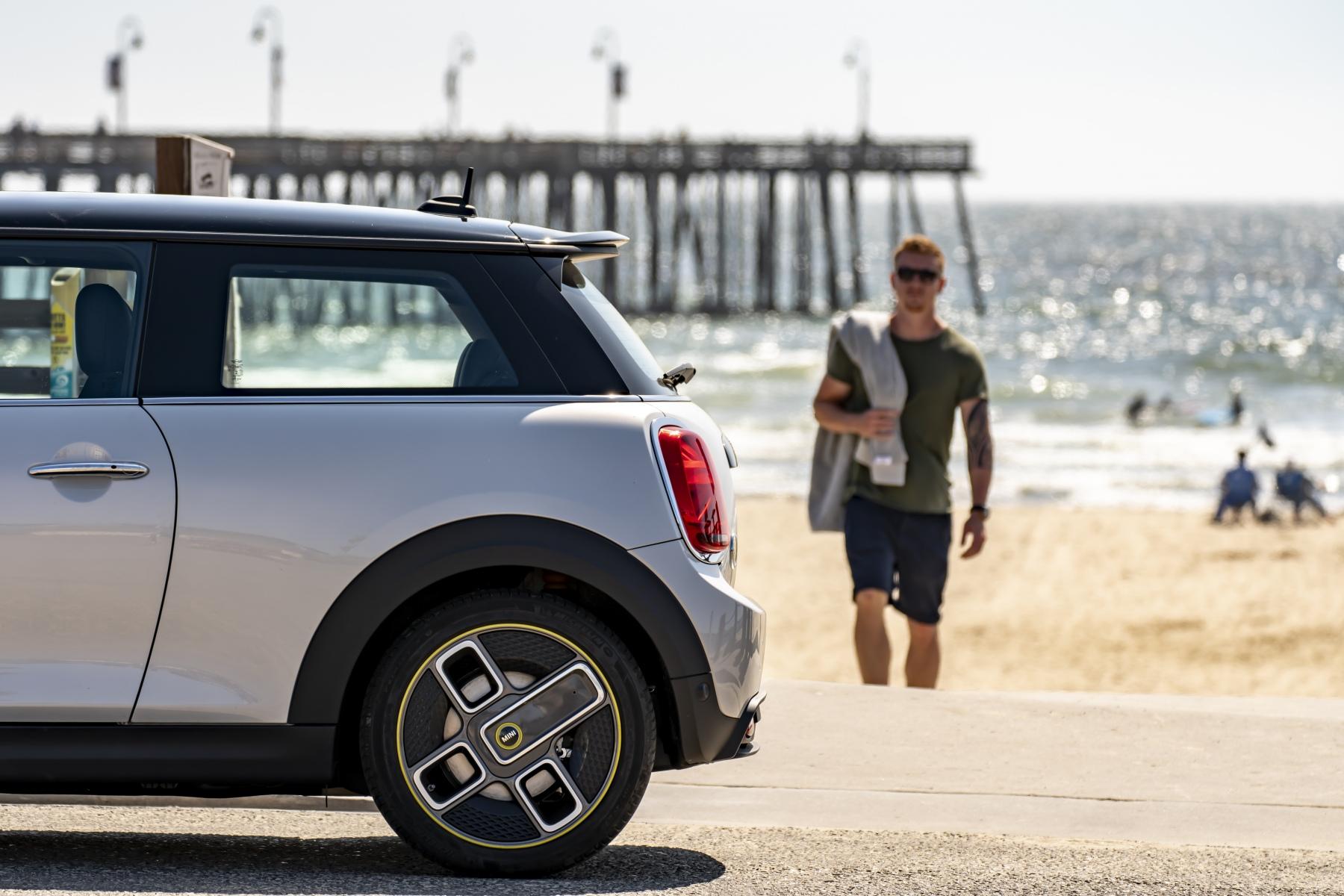 Mini Cooper SE - Da San Francisco a Los Angeles