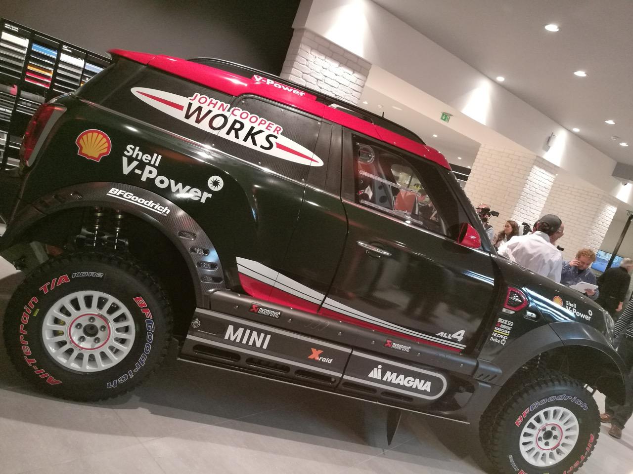 MINI John Cooper Works Dakar 2018