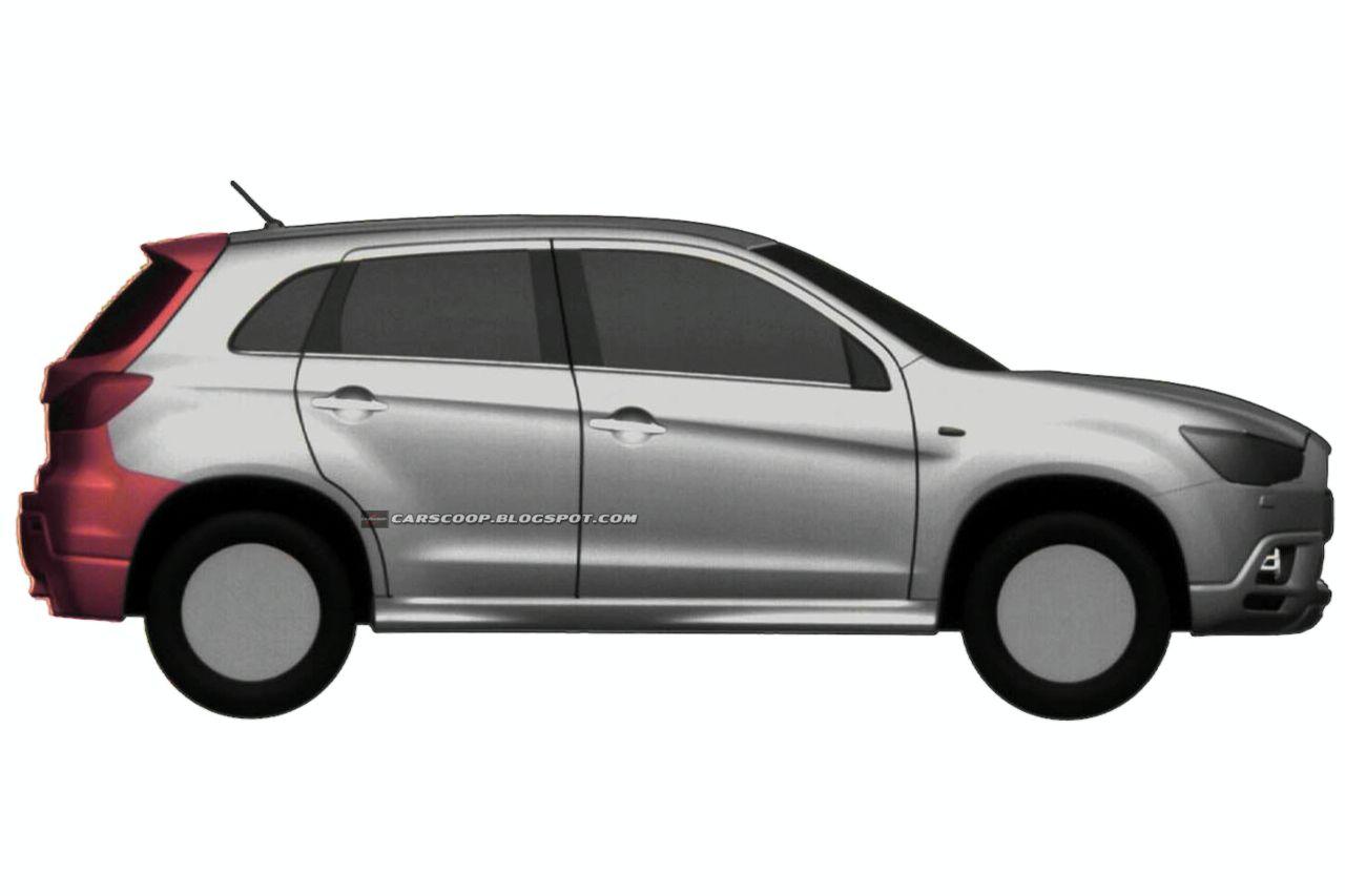 Mitsubishi: nuovo crossover compatto