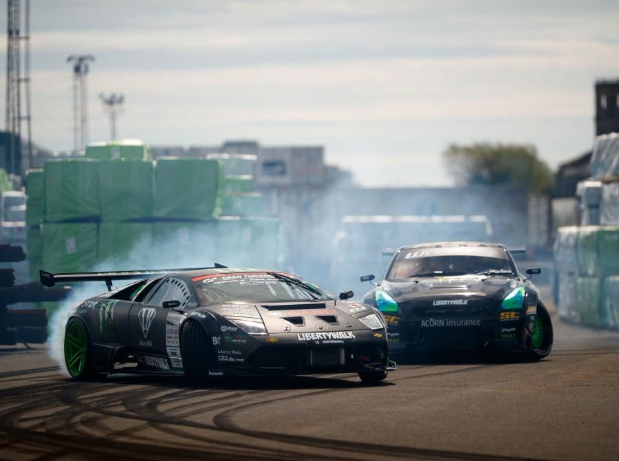 Monster Energy battle drift