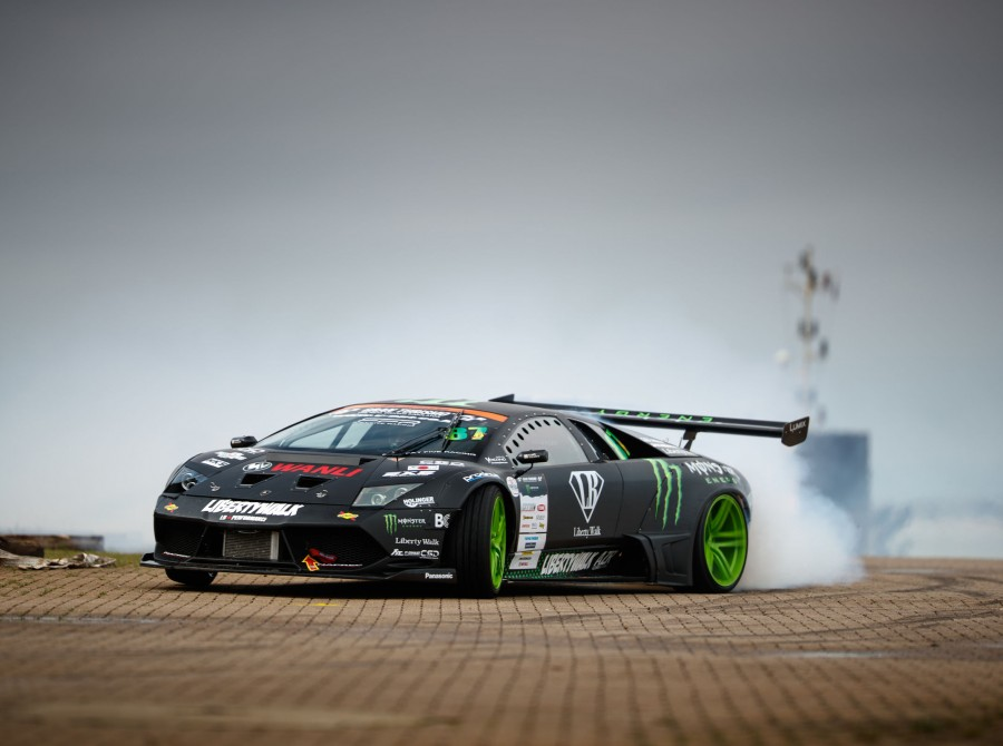 Monster Energy battle drift