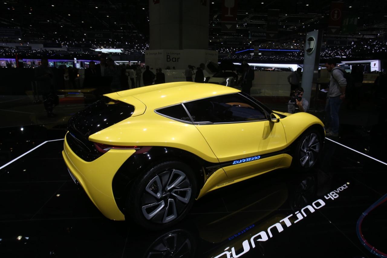 NanoFlowcell 48Volt (Quant e Quantino) - Salone di Ginevra 2017