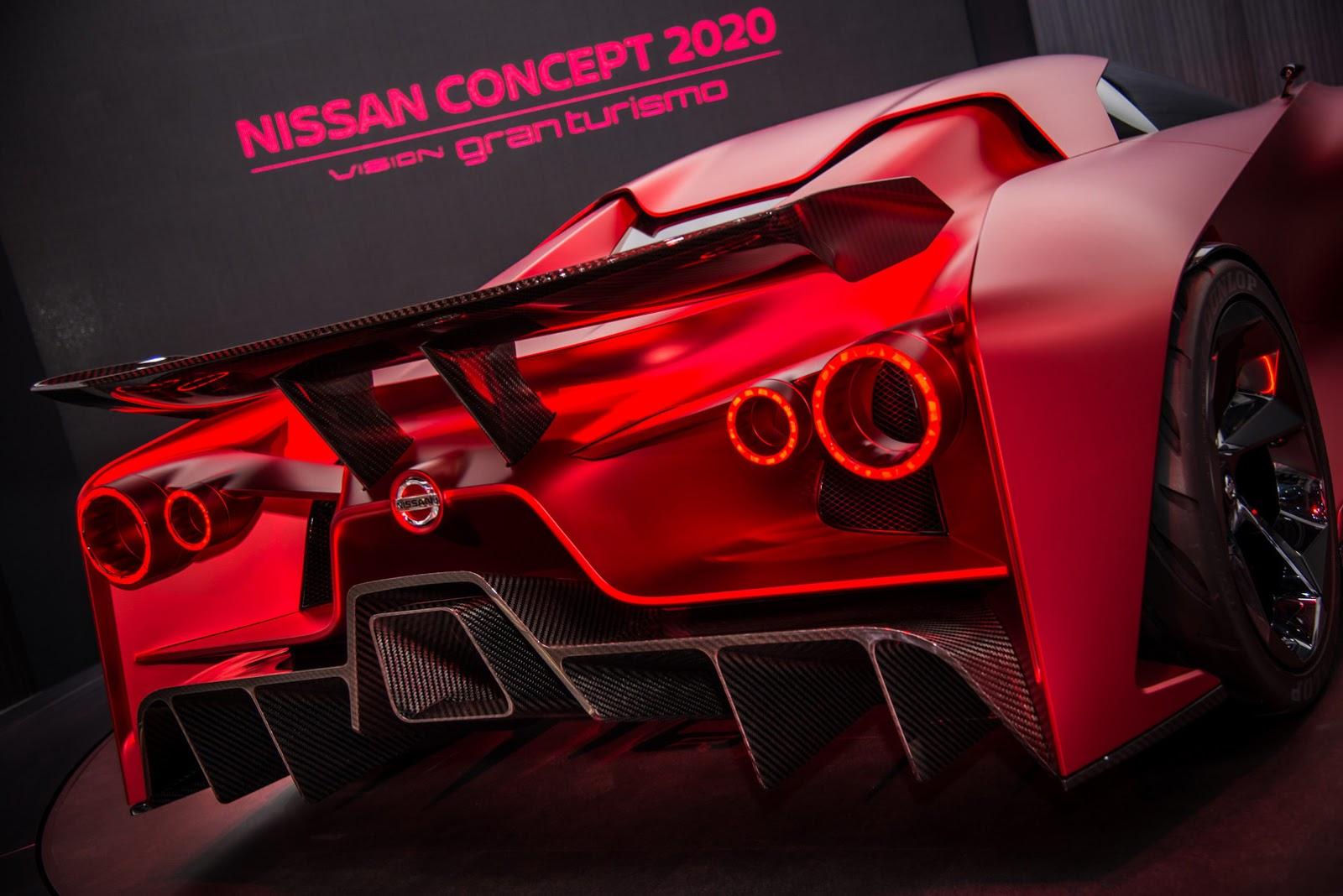 Nissan 2020 Vision Gran Turismo Concept - Tokyo Motor Show 2015