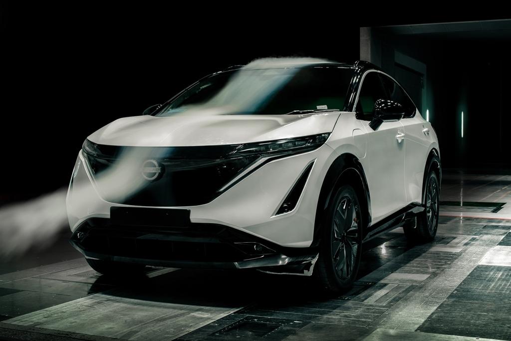 Nissan Ariya - Aerodinamica