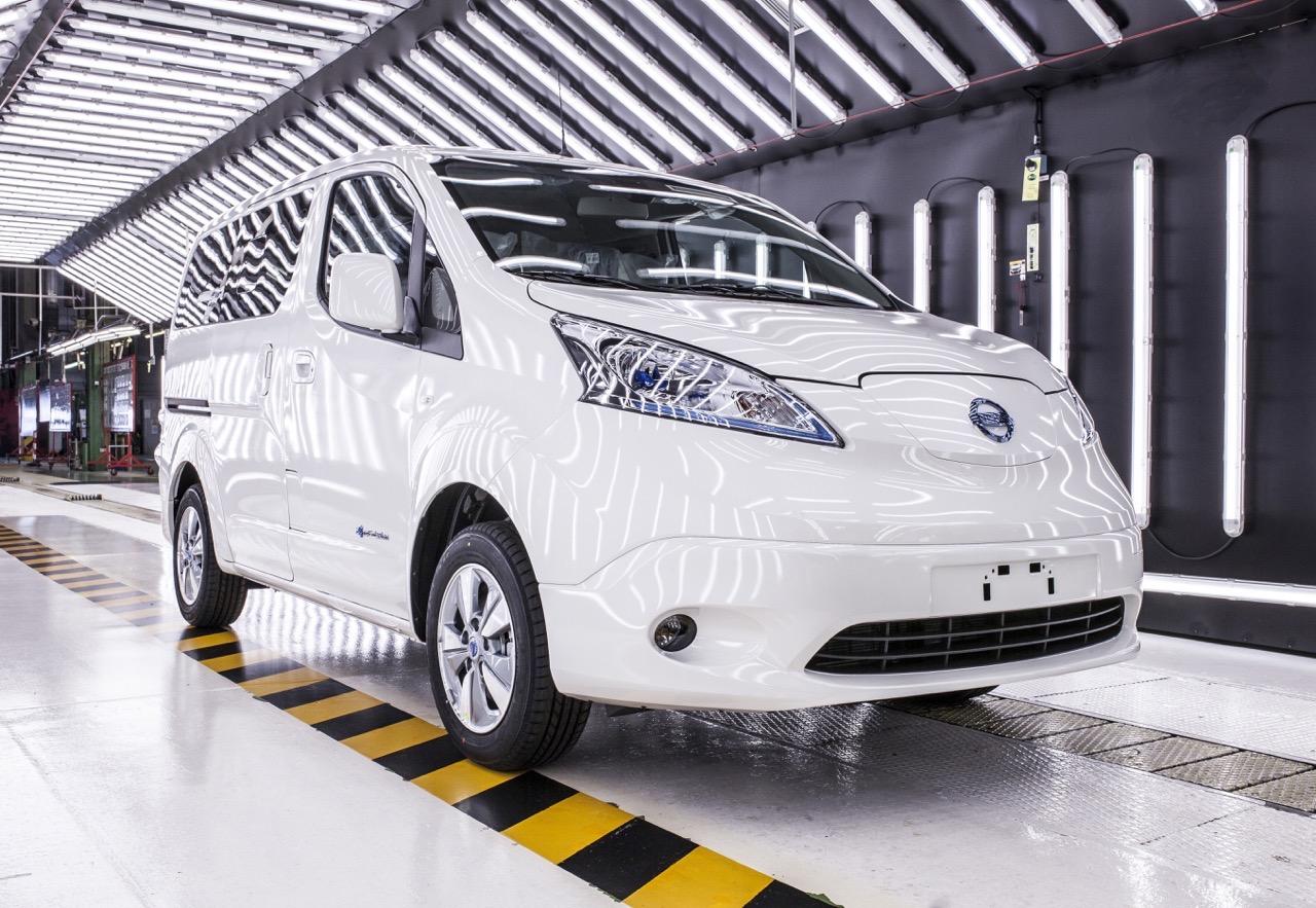 Nissan e-NV200 consegna