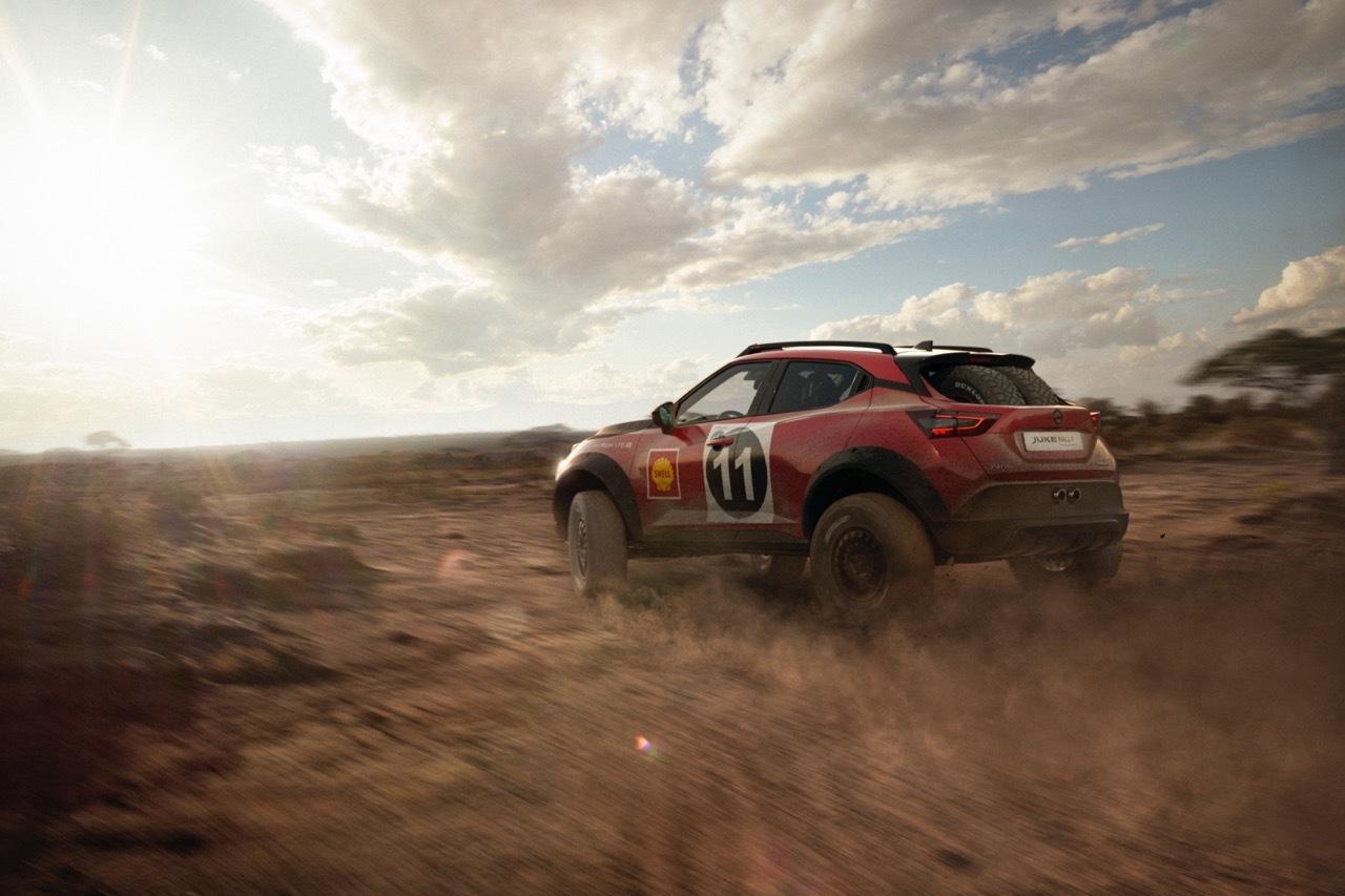 Nissan Juke Rally Tribute Concept - Foto ufficiali