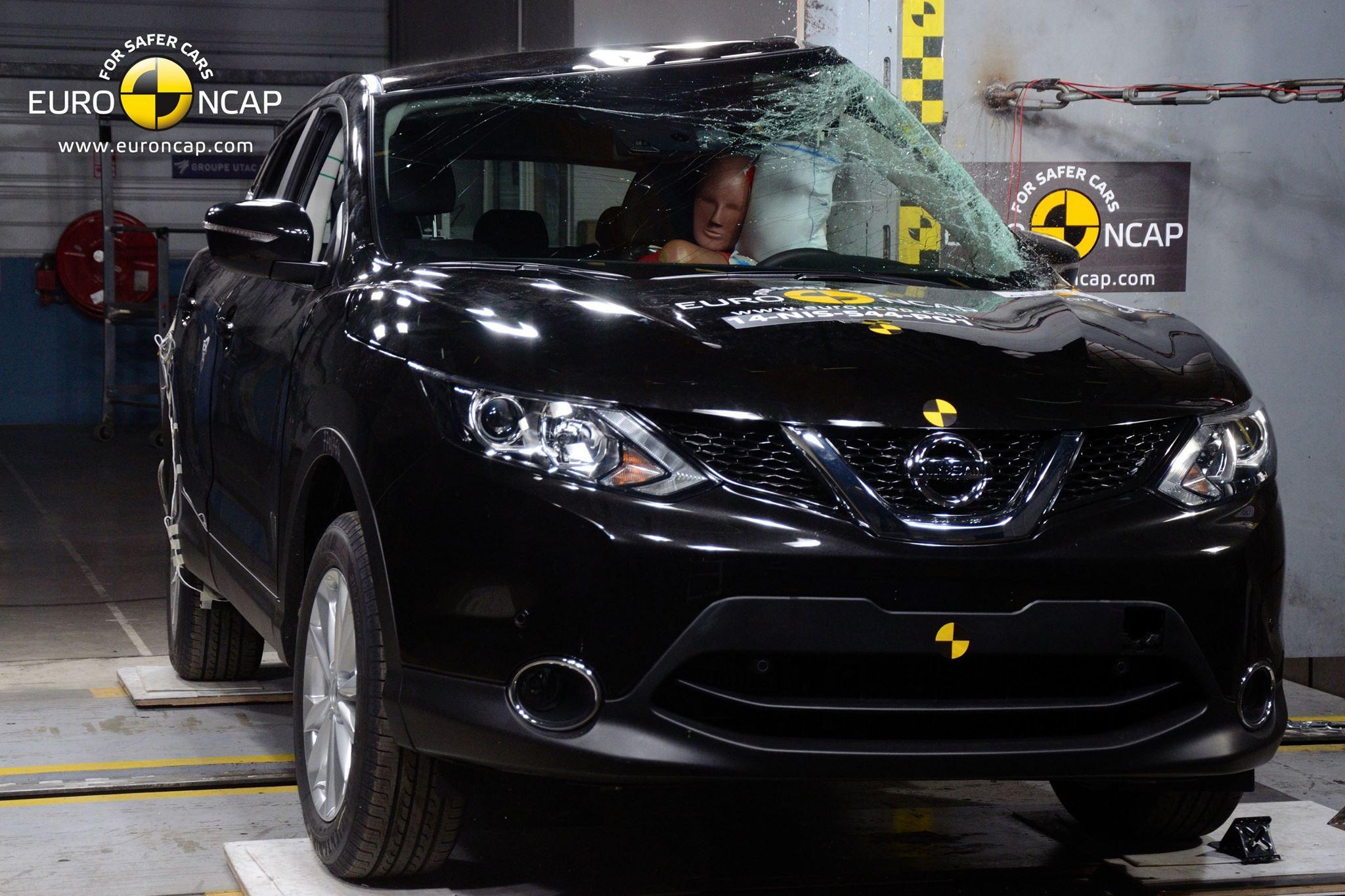 Nissan Qashqai - Crash Test EuroNCAP 2014
