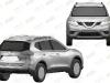 Nissan X-Trail bozzetti