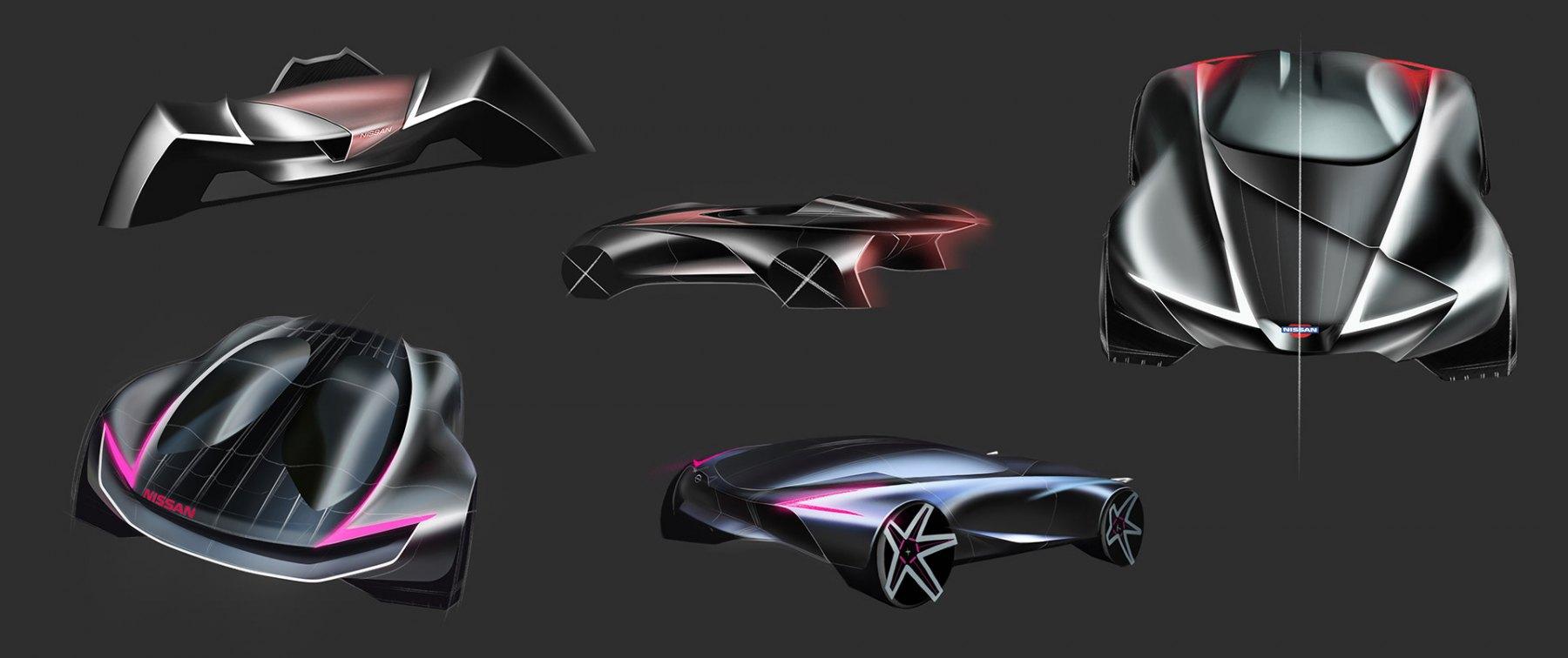 Nissan Z Vision - Render