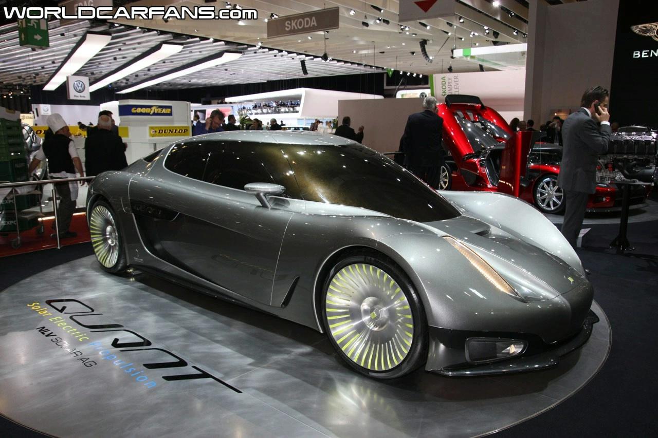 NLV Solar Koenigsegg Quant Concept