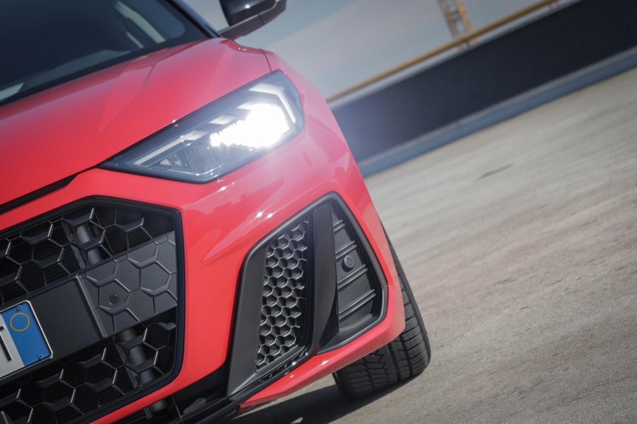 Nuova Audi A1 SPB 30 TFSI - Prova su strada