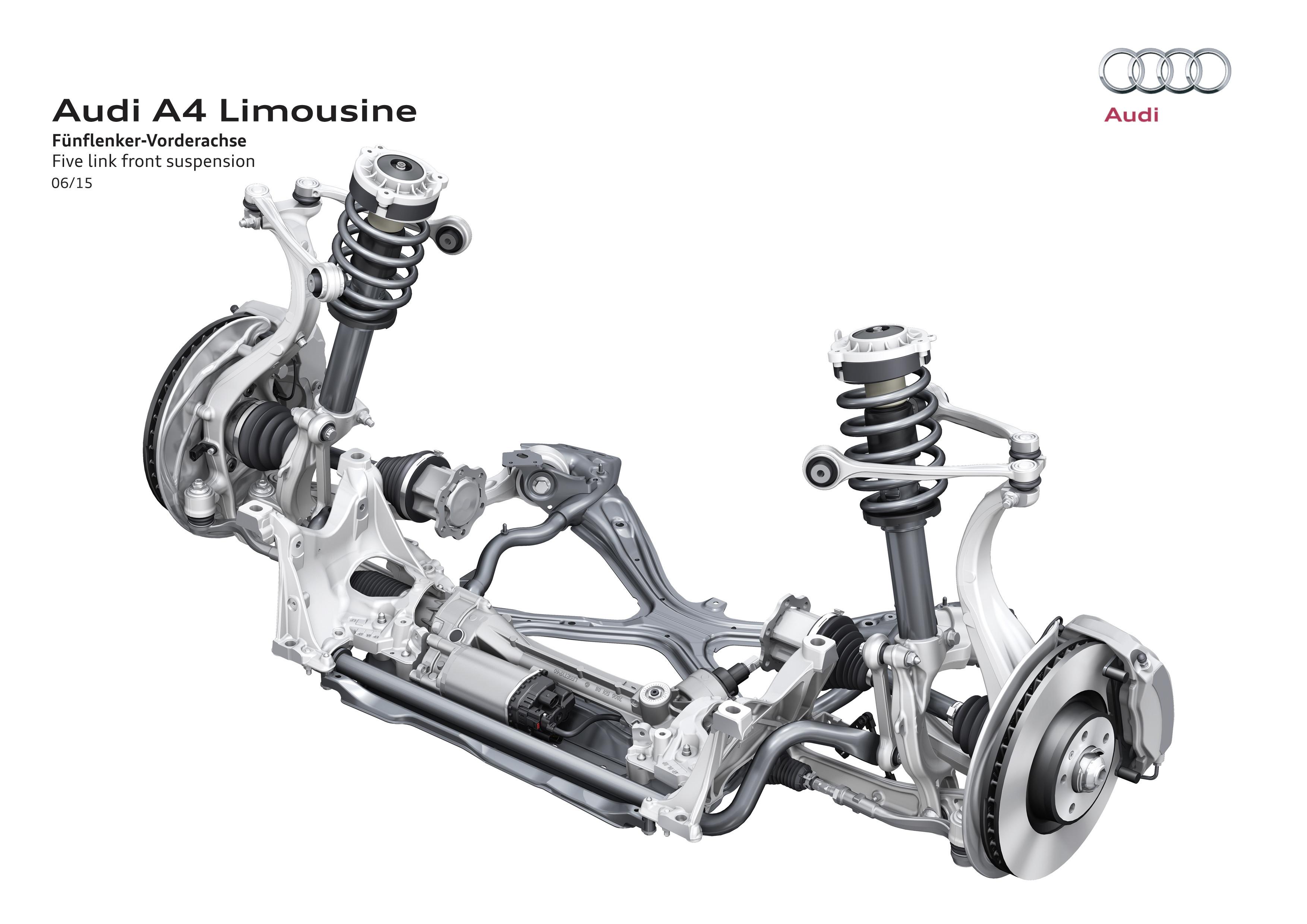 Nuova Audi A4 e A4 Avant - Hightech