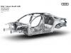 Nuova Audi A8 materiali leggeri