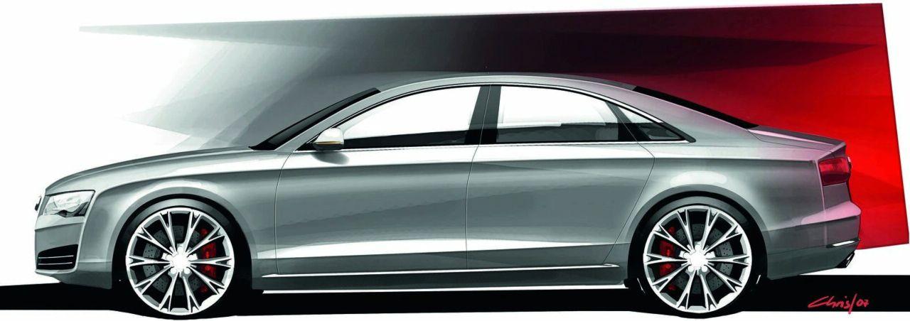 Nuova Audi A8 Foto 34 Di 100