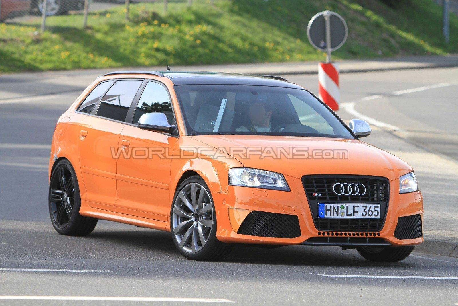 Nuova Audi RS3: foto spia