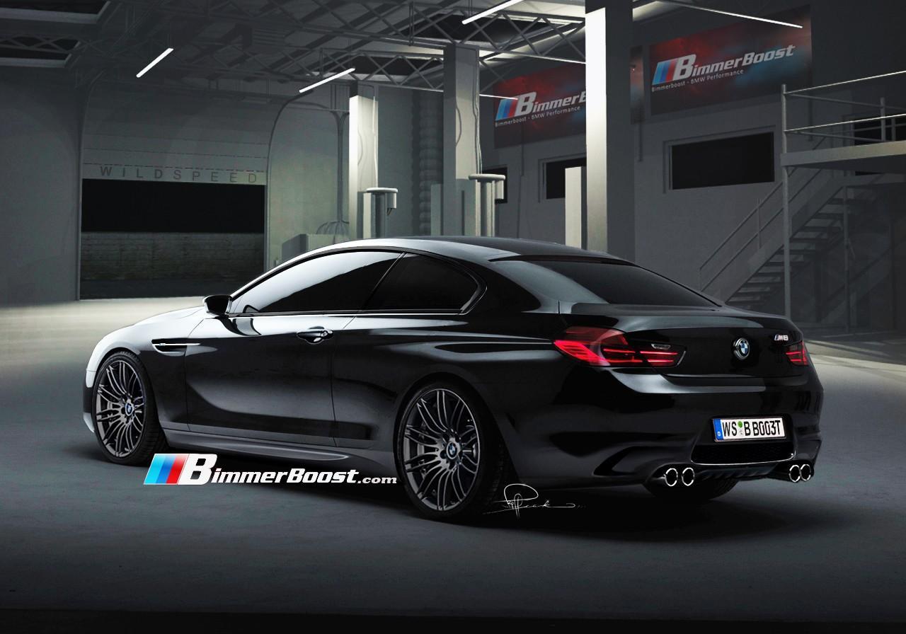 Nuova BMW M6: rendering