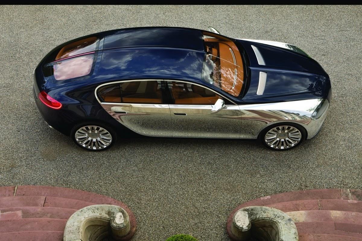 Nuova Bugatti Galibier concept