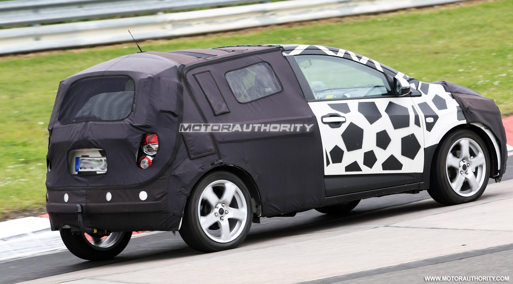 Nuova Chevrolet Aveo - Foto Spia