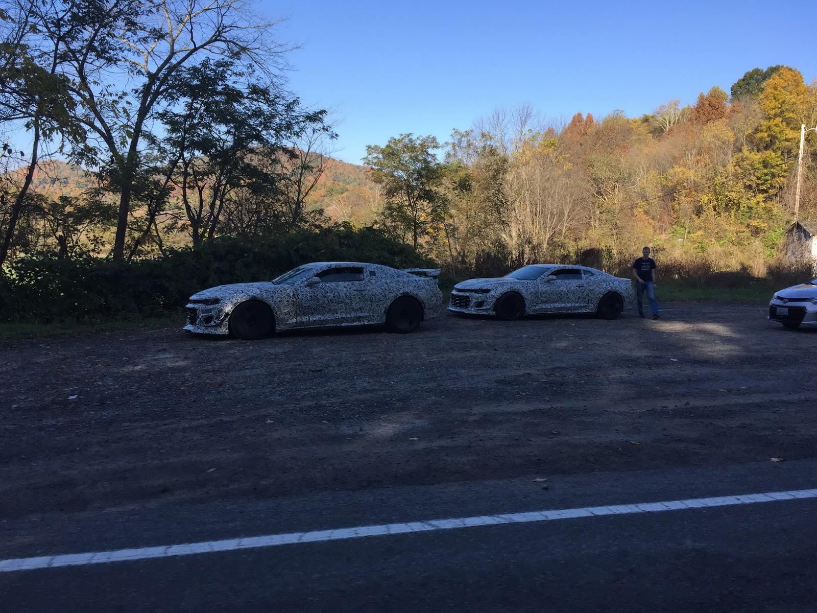 Nuova Chevrolet Camaro Z/28 foto spia 19 ottobre 2016