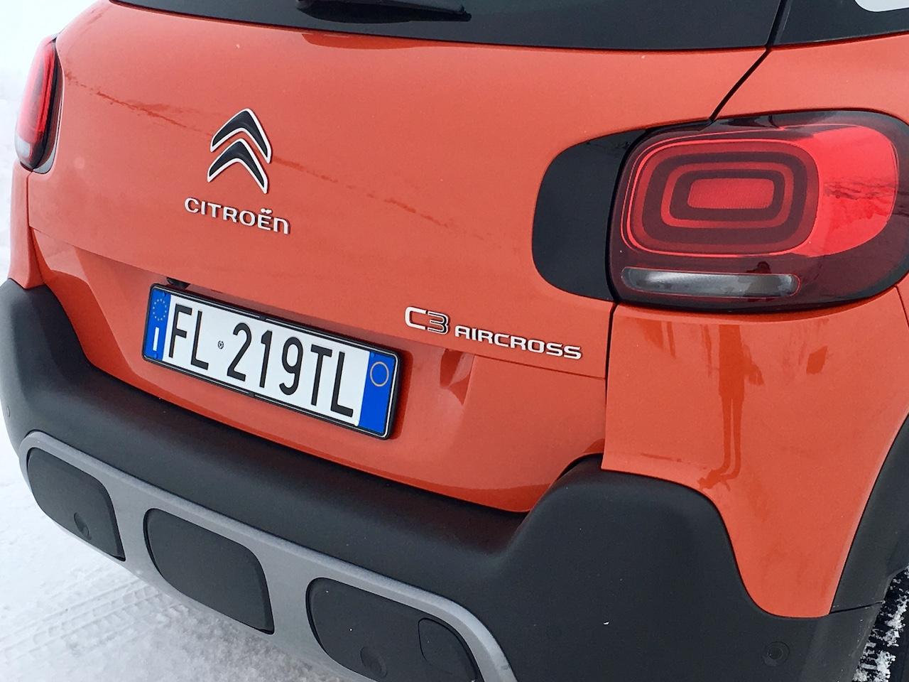Nuova Citroen C3 Aircross