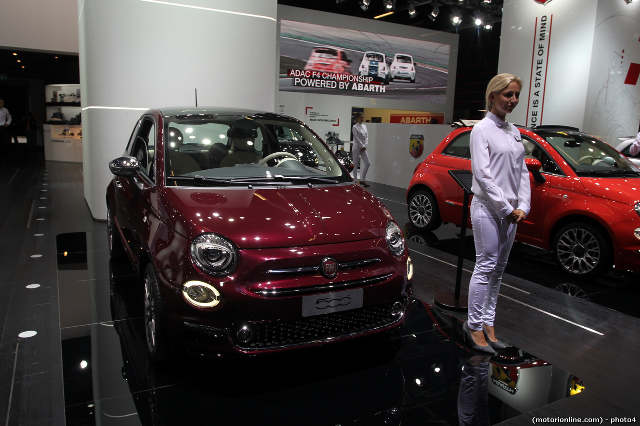 Nuova FIAT 500 - Salone di Francoforte 2015