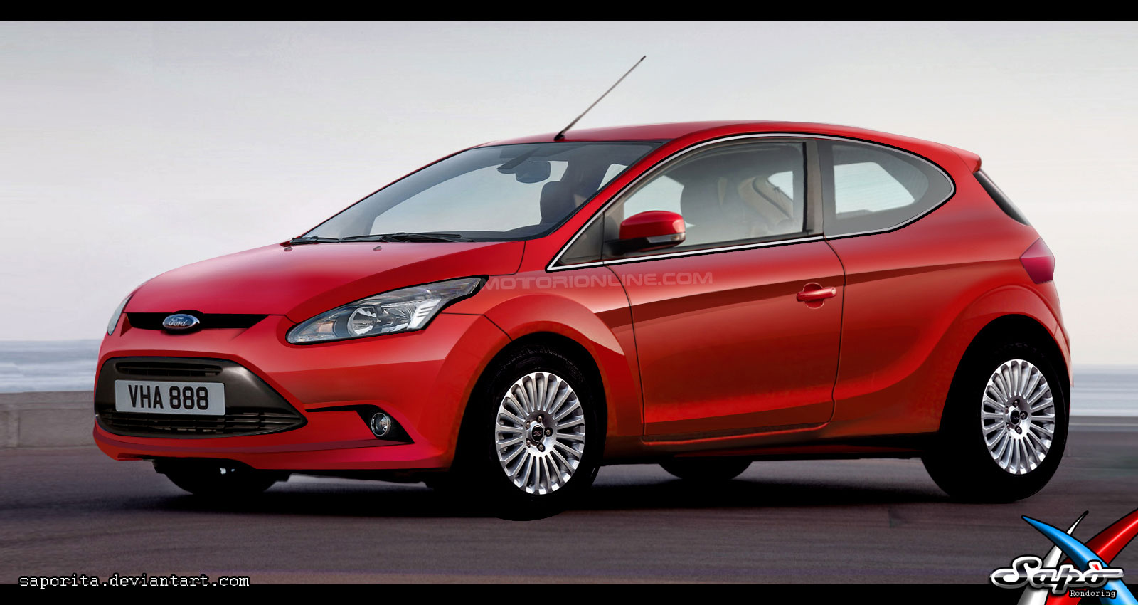 Nuova Ford Focus: rendering - 1/1