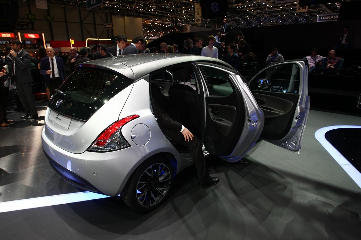Nuova Lancia Y 2011 - Salone di Ginevra