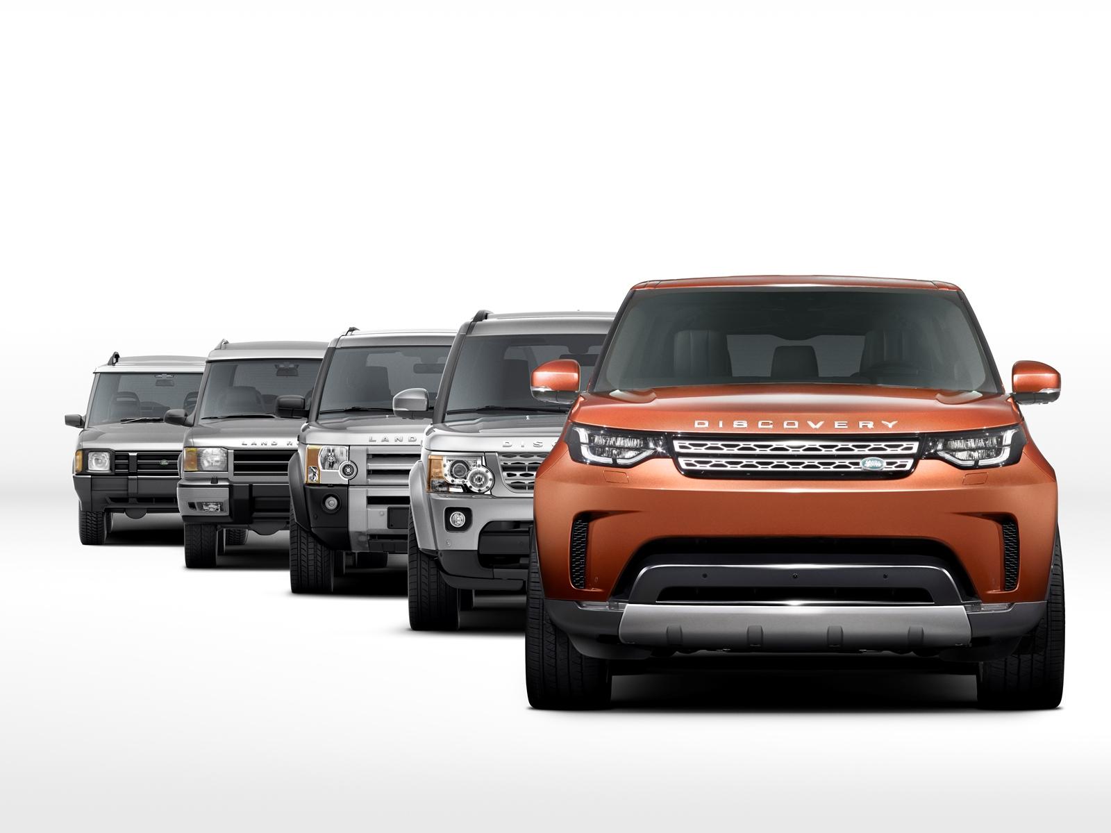 Nuova Land Rover Discovery prime foto ufficiali 6 settembre 2016