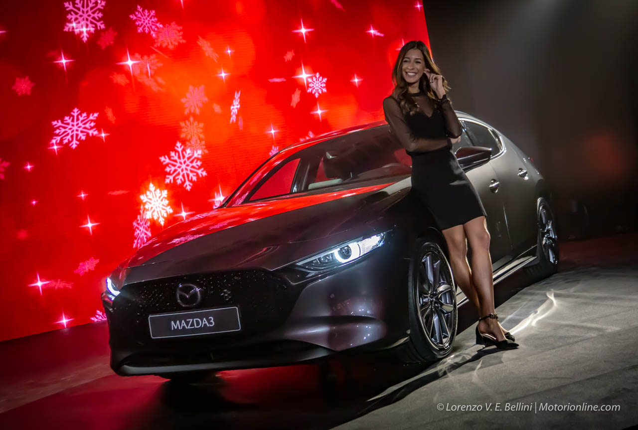 Nuova Mazda3 - Debutto Europeo a Milano