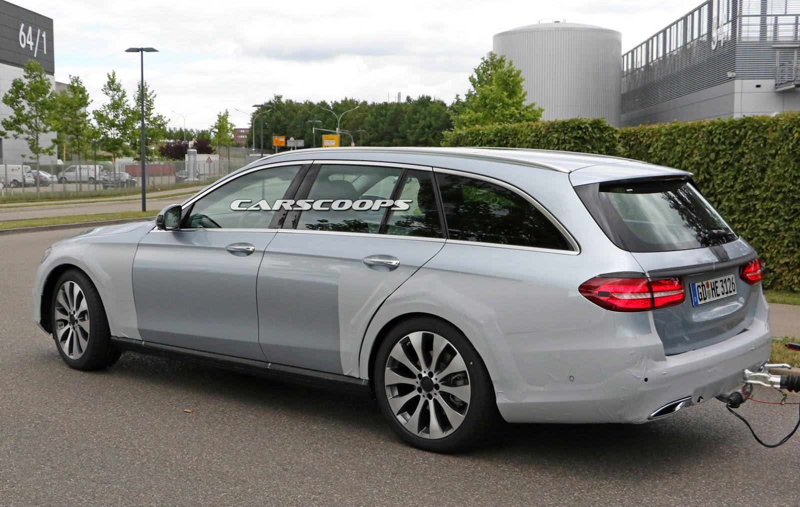 Nuova Mercedes Classe E Station Wagon All Terrain foto spia 16 settembre 2016