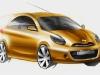 Nuova Nissan Micra: bozzetti ufficiali