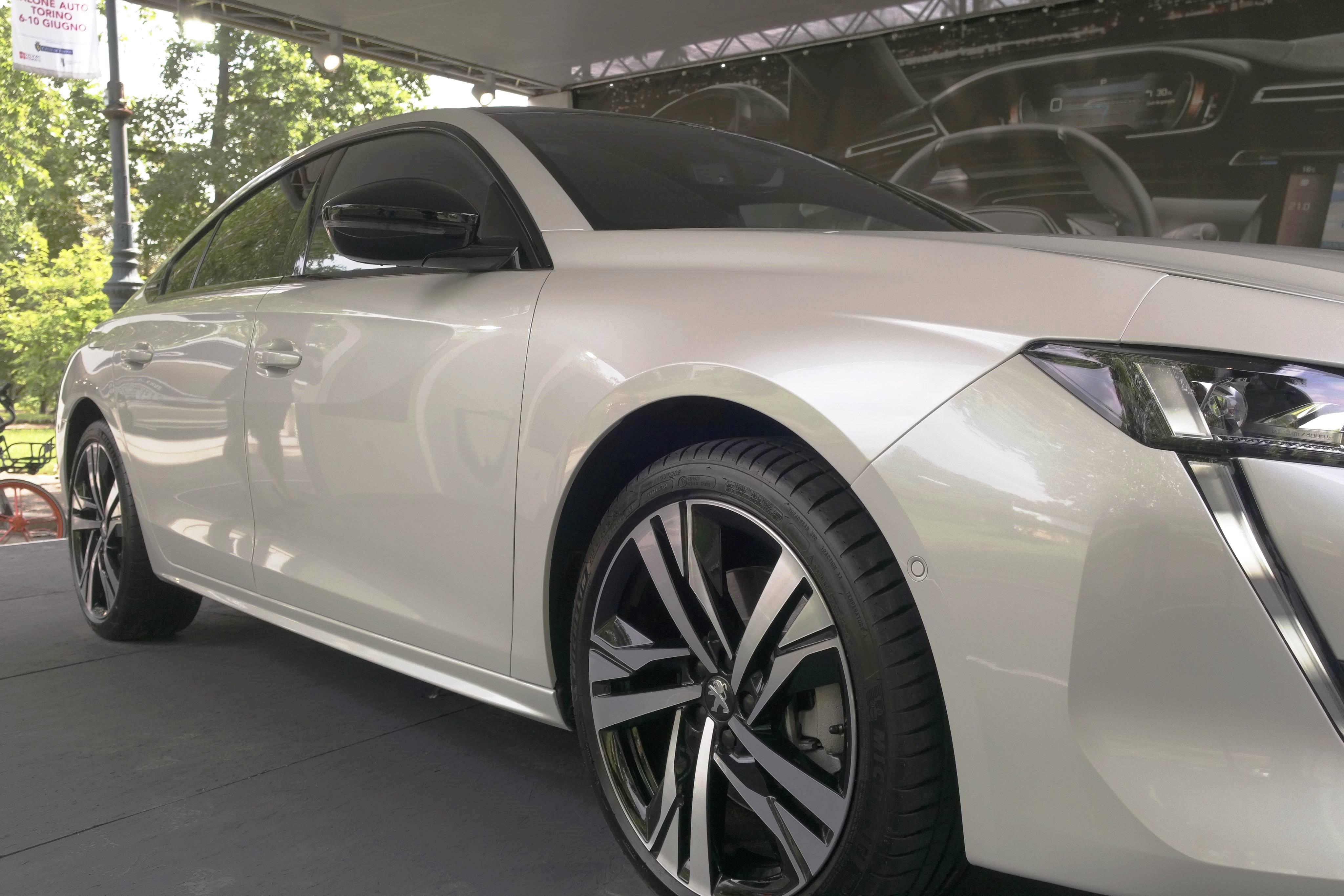 Nuova Peugeot 508 - Parco Valentino 2018