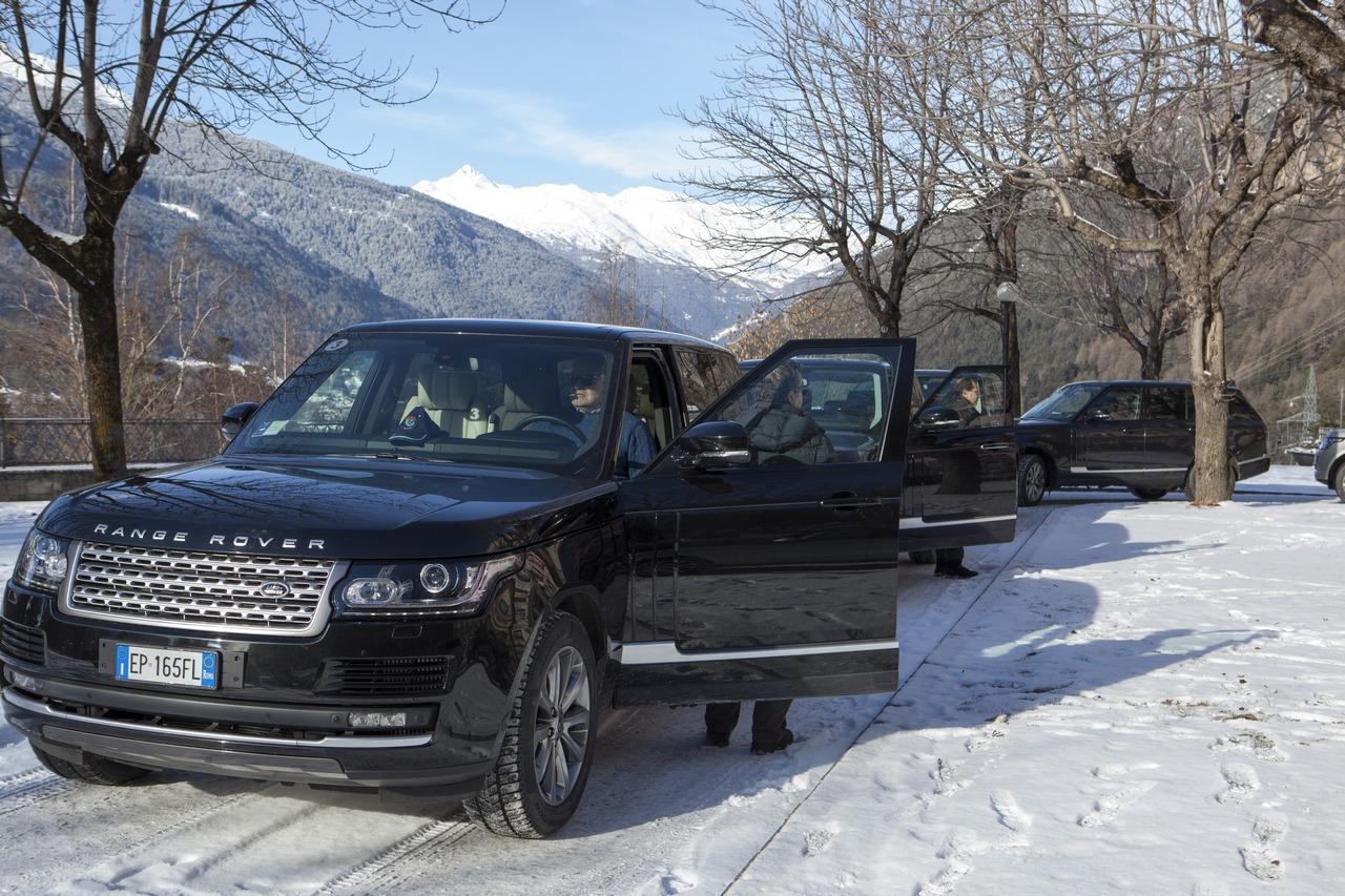 Nuova Range Rover Presentazione Stampa Italiana Bormio